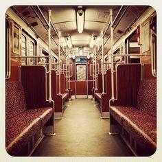"""""""Empty U-Bahn U1 Uhlandstraße to Warschauer Straße"""" - chances are I've thrown up on this one."""