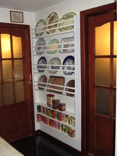 FABBY'S LIVING: My New Wall Plate Rack