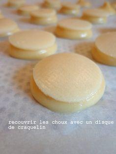 """C'est ma fournée !: Choux """"craquelin"""" au praliné (Michalak)"""