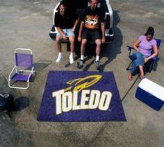 Toledo Rockets Area Rug - Tailgater