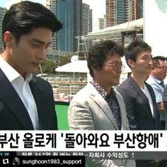 "#Repost @sunghoon1983_support ・・・ [ MOVIE ] #SUNGHOON #Action #movie 2017 ""Come Back to Busan Port"" video by #KNN news thanks . #sunghoon#성훈 #배우성훈  @sunghoon1983파이팅! Fighting!! @stallion__entertainment  #ソンフン#방성훈#成勋 #成勛  #sunghoon1983 #sunghoon1983_support #coolkizontheblock #신기생뎐#newtalesofgisaeng #신의 #고결한그대 #noblemylove #오마이비너스#ohmyvenus #아이가다섯#FiveChildren #돌아와요부산항애 #ComeBackToBusanPort #애타는로맨스 #MysecretRomance  #아이돌마스터KR #IDOLMASTERKR"