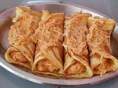 A Panqueca de Frango Simples é fácil de fazer, deliciosa e perfeita para a refeição da sua família. Não perca tempo e anote já a receita!