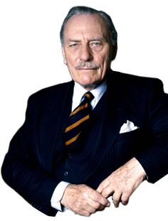 """Enoch Powell -- One of the most influential and intelligent politicians in British history.  """"I hope those who shouted """"Fascist"""" and """"Nazi"""" are aware that before they were born I was fighting against Fascism and Nazism. """""""