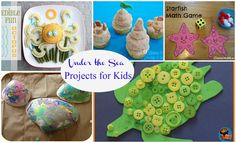 Reading Confetti: Kids Co-op: Under the Sea Activities