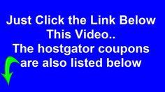 """Hostgator Hosting Coupon 2014"" | Best ""Hostgator Hosting Coupon Code"" For 2014 http://youtu.be/nJ5fTSIMVKg"