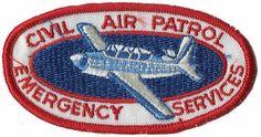 Emergency Services Patch, Civil Air Patrol Air Force Reserve, Us Air Force, Civil Air Patrol, National Guard, Organizations, Airplanes, Civilization, Sons, Aircraft