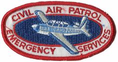 Emergency Services Patch, Civil Air Patrol
