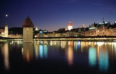 The economy of Switzerland is mostly based on tourism. With many beautiful towns and cities across the country, the country can bring all kinds of surprises and enjoyment to the travelers. The quaint little town of Lucerne in Central Switzerland makes a great spot to stop on your trip in Switzerland.