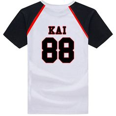 KPOP EXO T-shirt EXO K M All Member Love Me Right T-shirt ❤ liked on Polyvore featuring tops and t-shirts