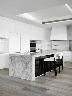 Harbour Light by Thomas Hamel & Associates on Marble Countertops, Kitchen Countertops, Kitchen Pantry, Kitchen Dining, Kitchen Interior, Minimalist Design, Decoration, Home Kitchens, Furniture Design