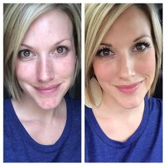 Before and After - An everyday Younique face.   https://www.youniqueproducts.com/MICHELLETHOMASY/products#.U_5PW9KwJcQ