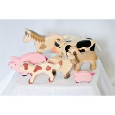 Wooden Farm Animals - Sprout