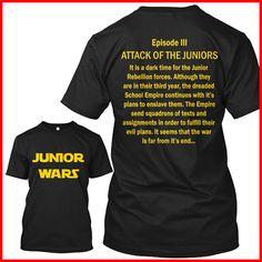 Junior class T-shirt Class Of 2018 Shirts, Back To School 2017, Homecoming Themes, Junior Shirts, Pep Rally, Student Council, Junior Year, School Spirit, Cool T Shirts