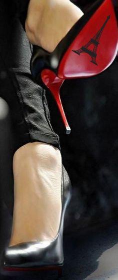 Paris heels. #Paris #Louboutin