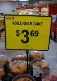 Then there is too much use of abbreviations and acronyms making for some bizarre and dubious flavors