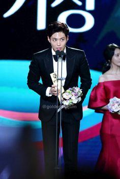 """170503 ♡ 53rd baeksang arts awards  golden bogum // do not edit or remove watermark."""