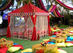 indian pergola tent