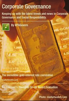 Corporate Governance (@Corporate Governance) on Twitter.