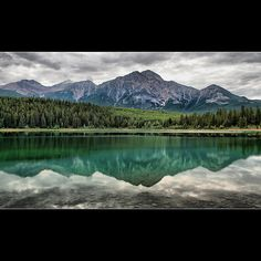 Pyramid Mountain, Jasper, Alberta, Canada- Been here many times!  <3 home is where the heart is <3