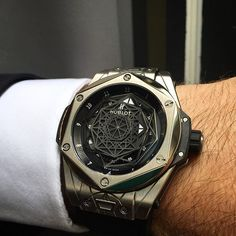 WEBSTA @ thewatchobserver - Big Bang Unico Sang Bleu by @hublot !