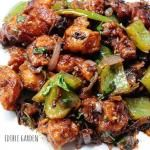 Dry Indian Chilli Chicken ~ Indo Chinese Recipe Series