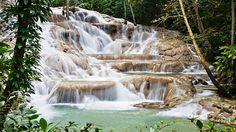 dunns river falls, jamaica.