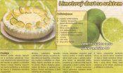 Limetový dort se sektem