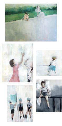 Lisa Golightly - Kiki and Polly — Portrait Art