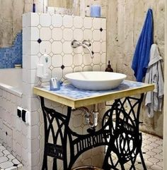 The centerpiece of any bathroom is the vanity.  -- bobvila.com