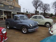 And one more shot of Morris cars...