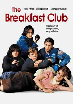 The Breakfast Club best film seen in all my life so in love with bender (judd nelson) Iconic 80s Movies, Classic Movies, 1980s Films, Anthony Michael Hall, The Breakfast Club, Breakfast Club Quotes, Film Music Books, Music Tv, Movies Showing
