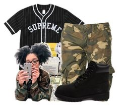 """""""Premè✨"""" by maiyaxbabyyy ❤ liked on Polyvore featuring Superdry and Timberland"""
