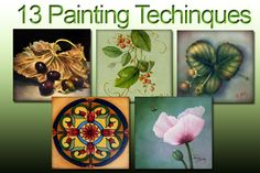 Online Art Class - 13 Painting Techniques for all Painting Styles, $49.95 (http://store.artapprenticeonline.com/acrylic-painting-techniques-online-art-class-13-painting-techniques-for-all-painting-styles/)