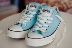blue converse♡
