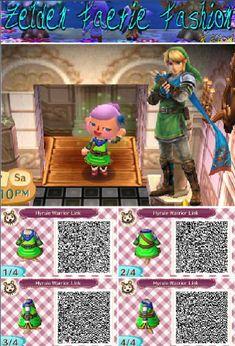 Hyrule Warriors Link: Animal Crossing New Leaf by ZeldaandFairies
