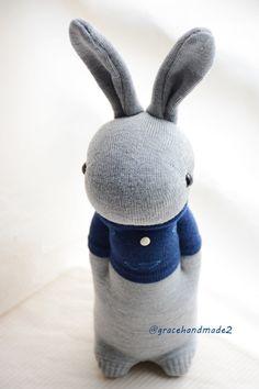 Grace--#354 sock Domy Rabbit