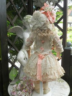 antique french doll clothes | beautiful french antique doll clothes | Most Beautiful French Muslin ...