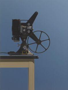 """Movie Projector with Reel"" Harold Reddicliffe 2004"