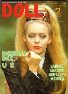 db−ninja Danielle Dax, U 2, Dolls, Cover, Movie Posters, Ninja, Magazines, Journals, Film Poster