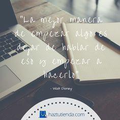 ¿Dejaras que pase más tiempo? Empieza tu tienda en línea ¡Hoy Mismo! #quote #ecommerce http://www.haztutienda.com/