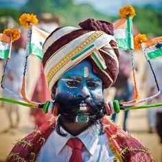 Moustache competition contestant  Pushkar Camel Fair
