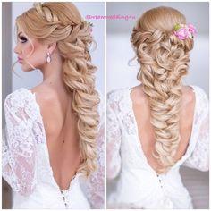 Bridal hair #style #Padgram
