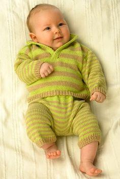 Stribet babysæt | Familie Journal