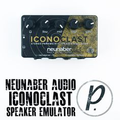 Neunaber Audio Effects Iconoclast Stereo Parametric Speaker Emulator