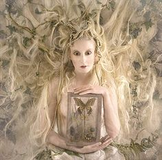 Wonderland : The White Witch.  Kirsty Mitchell Photography.