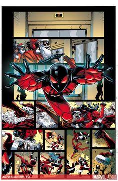 Scarlet Spider #12 by *ReillyBrown on deviantART