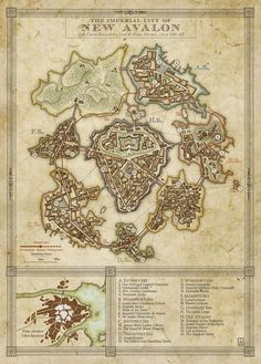 Drastmore: Avanlanis, the Greatest City in the West. | Silverhold Studios: Preview: New Avalon