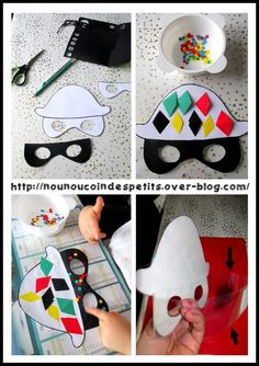 Carnival Crafts, Carnival Masks, Crown Crafts, School Carnival, Mardi Gras Party, Art N Craft, Crafts For Kids To Make, Winter Theme, Diy Costumes