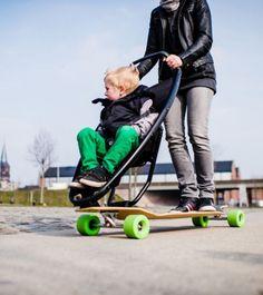 Carrinho-Skate Para Bebês Skate Stroller