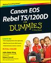 Canon EOS Rebel T5/1200D For Dummies Cheat Sheet